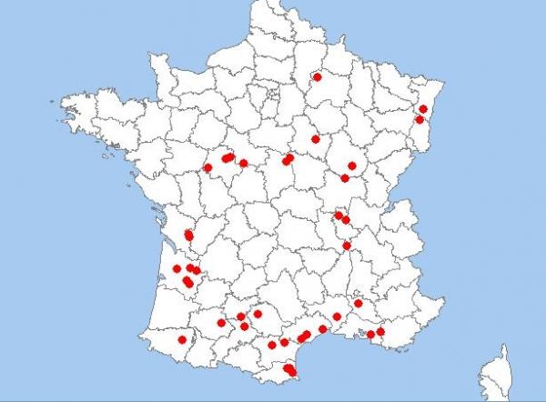 Bien-aimé ELECTROVIN - Notre présence en France et en Europe YF43